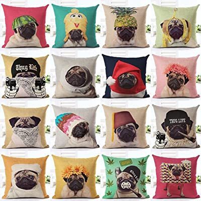 Custom Design Photo or Text Outdoor/Indoor Throw Pillowcase, Personalized Pet Photo Pillow, Wedding Keep Throwing Pillow, Birthday Present, Memorial Gift