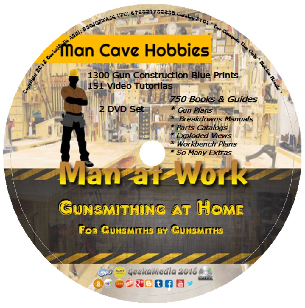 Learn Gunsmithing At Home: 151 Gun Video Tutorials 750 Guides ...