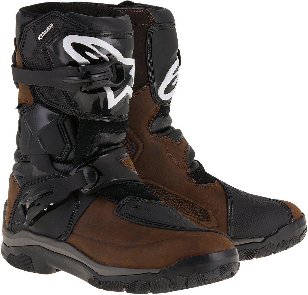 Alpinestars Mens Belize Drystar Oiled Leather Boot (Brown, 12) by Alpinestars