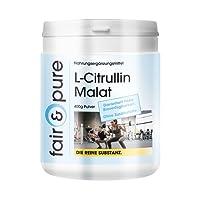 L-citrulline malate, bulk powder, vegan, without any additives, 400g citrulline malate powder