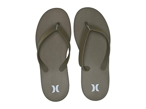 One And Only Sandal Olive Canvas ハーレー サンダル