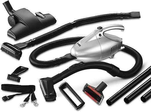 Princess Turbo Tiger Vacuum + Floorset, 700 W, Plata/Negro ...