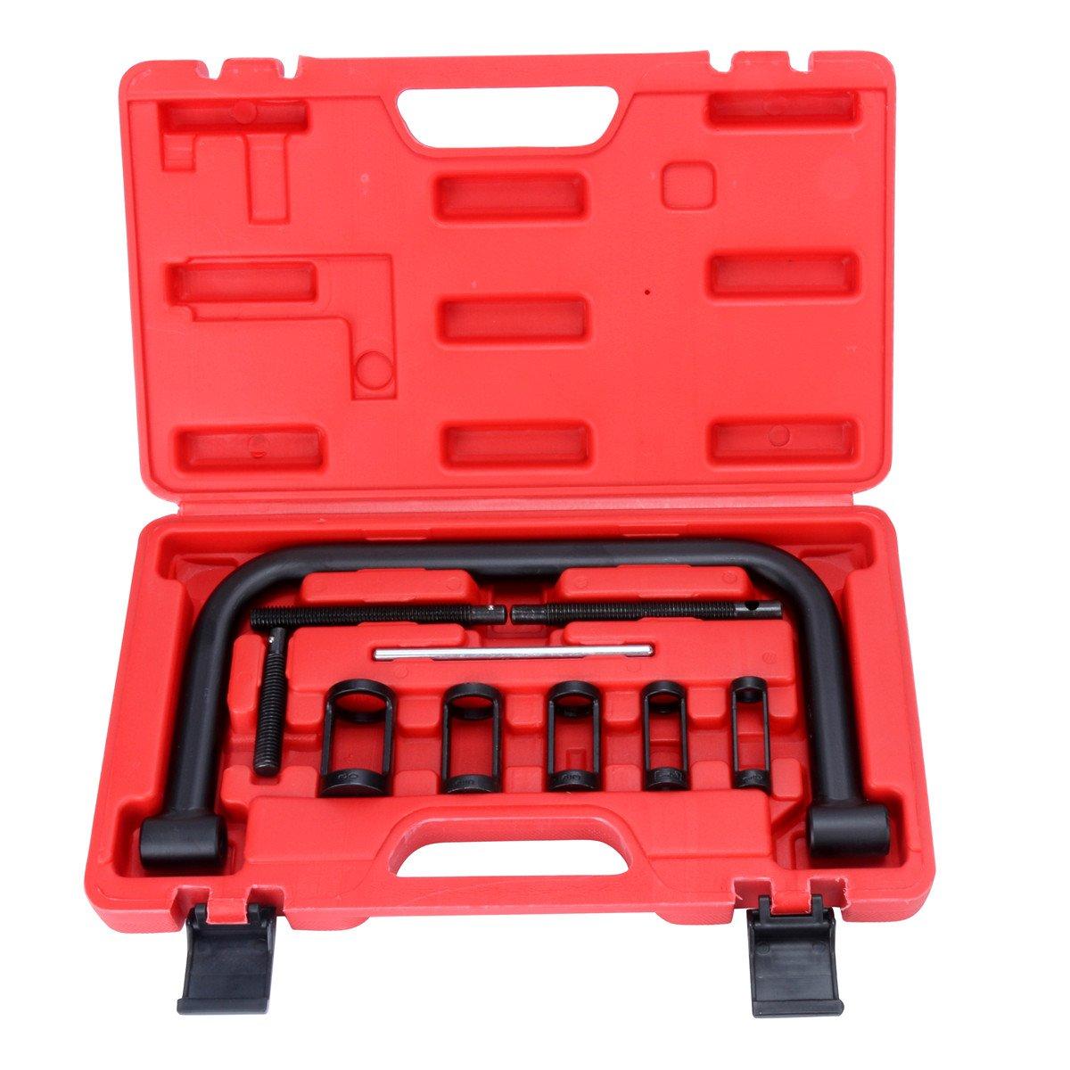 Juego de herramientas de reparación de 10 piezas para coche de FreeTec, válvula, compresor de muelles freebirdtrading