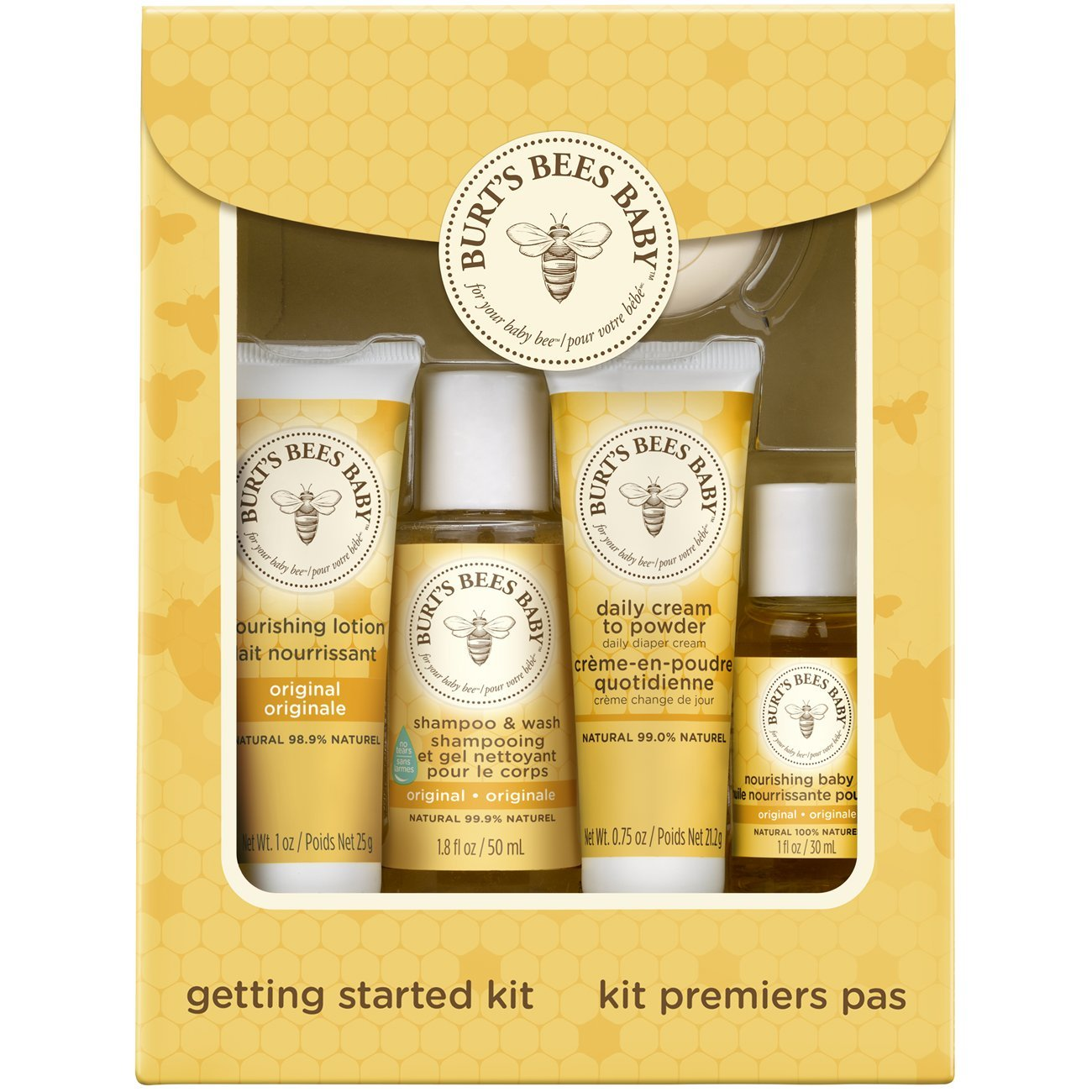 Burts Bees Baby Bee Getting Started Kit 1 box x 3 (Pack of 3)
