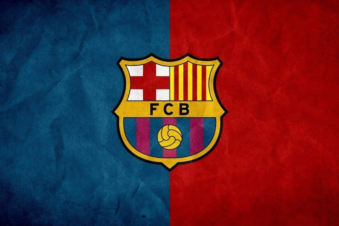 AthahDesigns Paper Fc Barcelona Logo Blue Red Wall Poster: Amazon.in: Home  & Kitchen