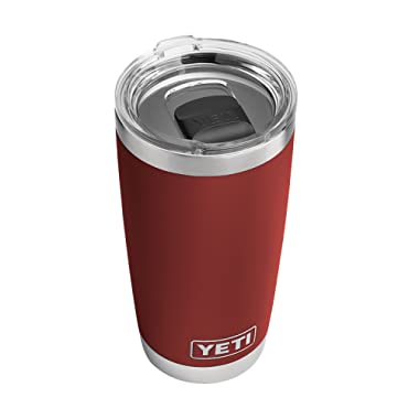 YETI Rambler 20Oz Brick Red with Ms, 1 Each