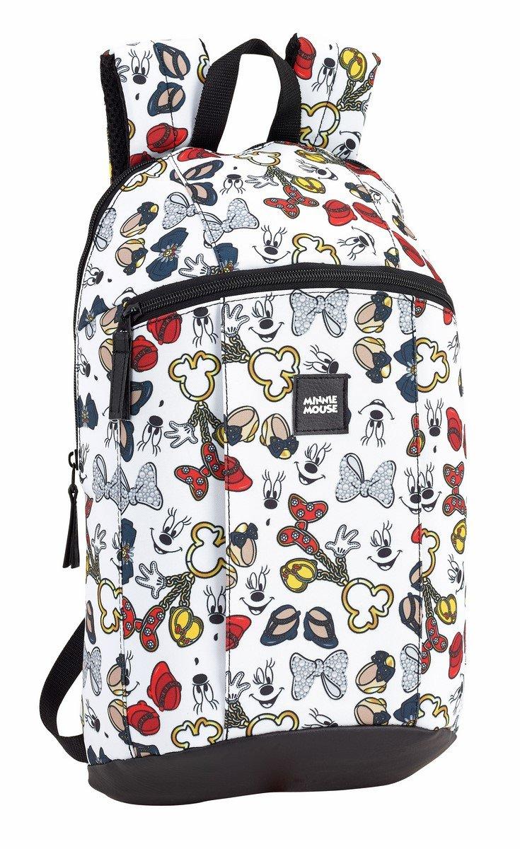 Minnie Mouse Icons Mini Sac à dos (officiel), utilisation quotidienne Safta 611813821