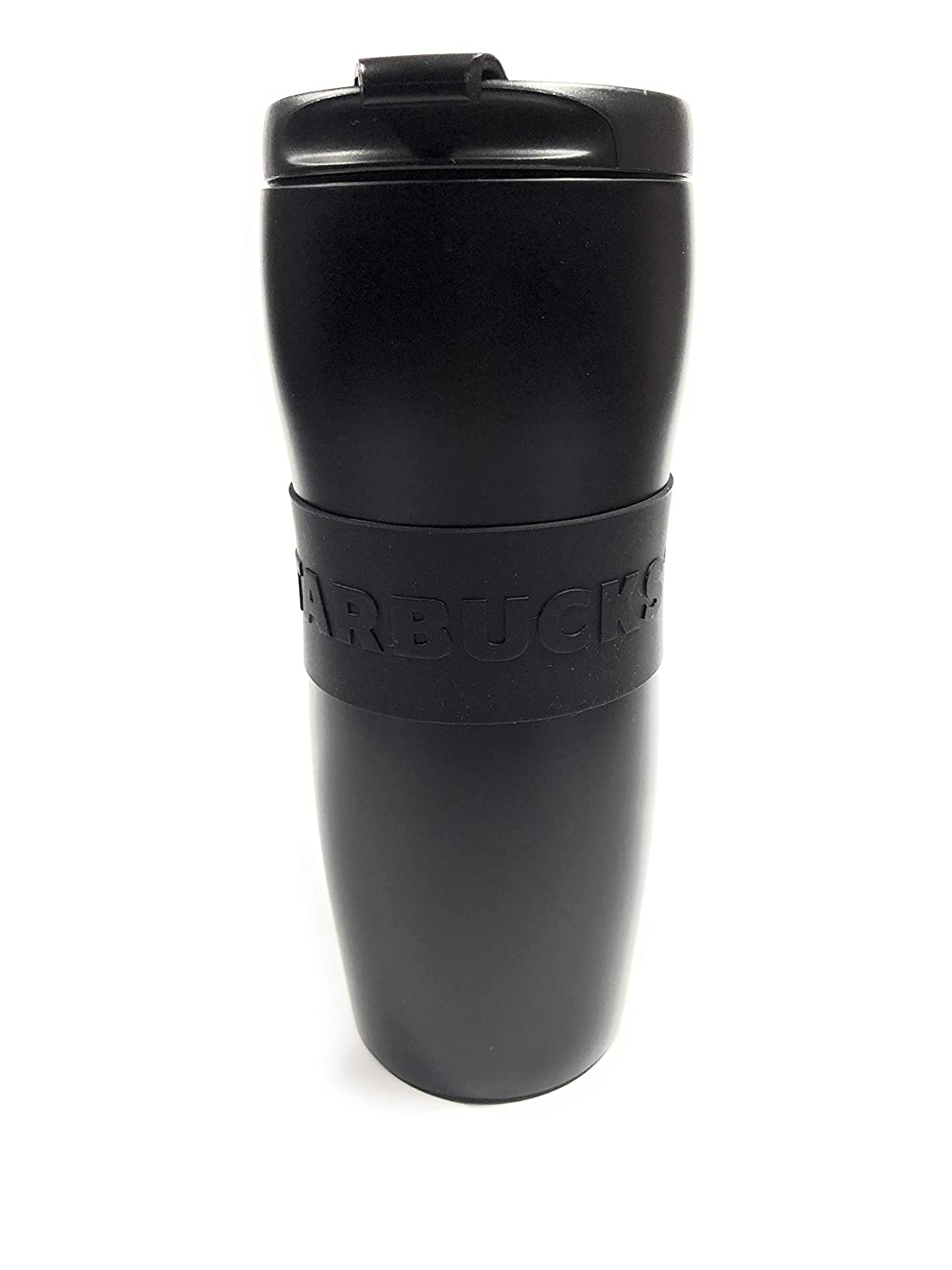Starbucks Stainless Steel lucy tumbler thermos - matte black - 12 ounce