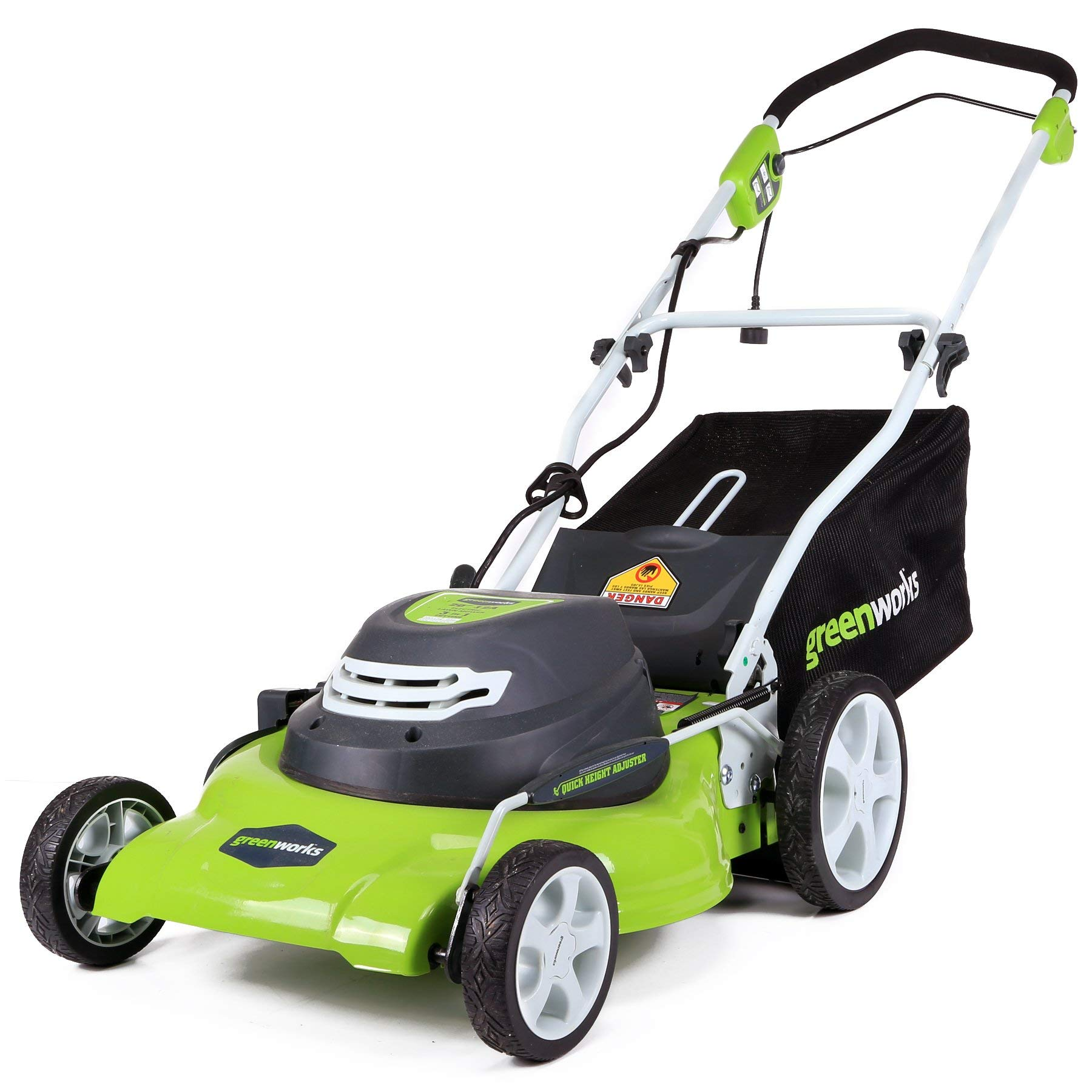 Greenworks 20-Inch 12 Amp Corded Lawn Mower 25022 (Renewed) by Greenworks