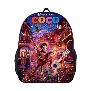 ad844ce79577 Amazon.com: GD-fashion Coco Fans Backpack-Kids Back to School ...