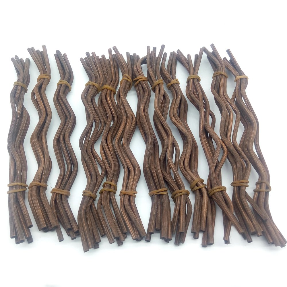 General 100pcs Premium Brown Wavy Rattan Reed Fragrance Diffuser Replacement Refill Sticks by General (Image #5)
