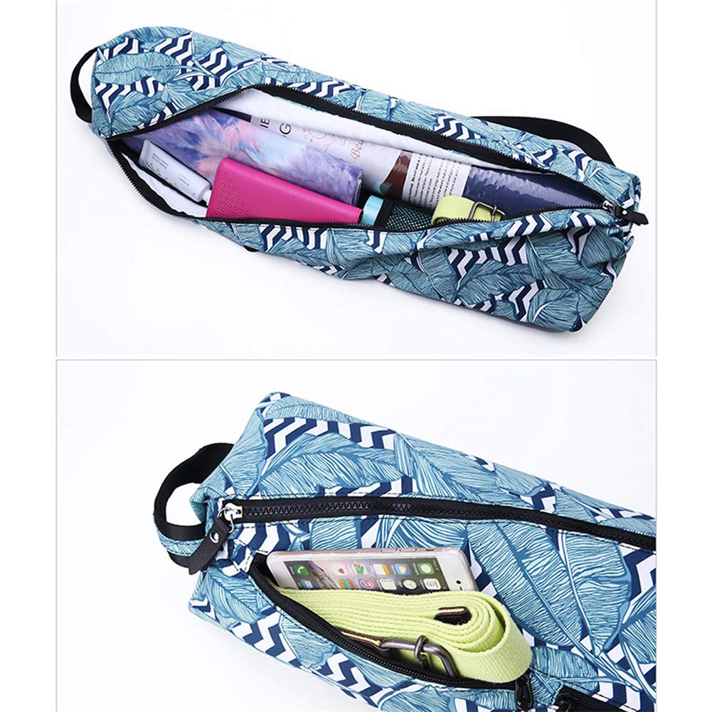 GU YONG TAO Yoga Mat Tote Bag Compartment for Yoga Block with Pocket Fits Yoga Accessories//Yoga Gear Large Capacity Easy Access Zipper Bottle Holder
