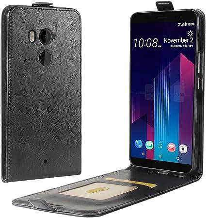 MoEvn Funda para HTC U11 Plus Voltee hacia Arriba y hacia Abajo ...