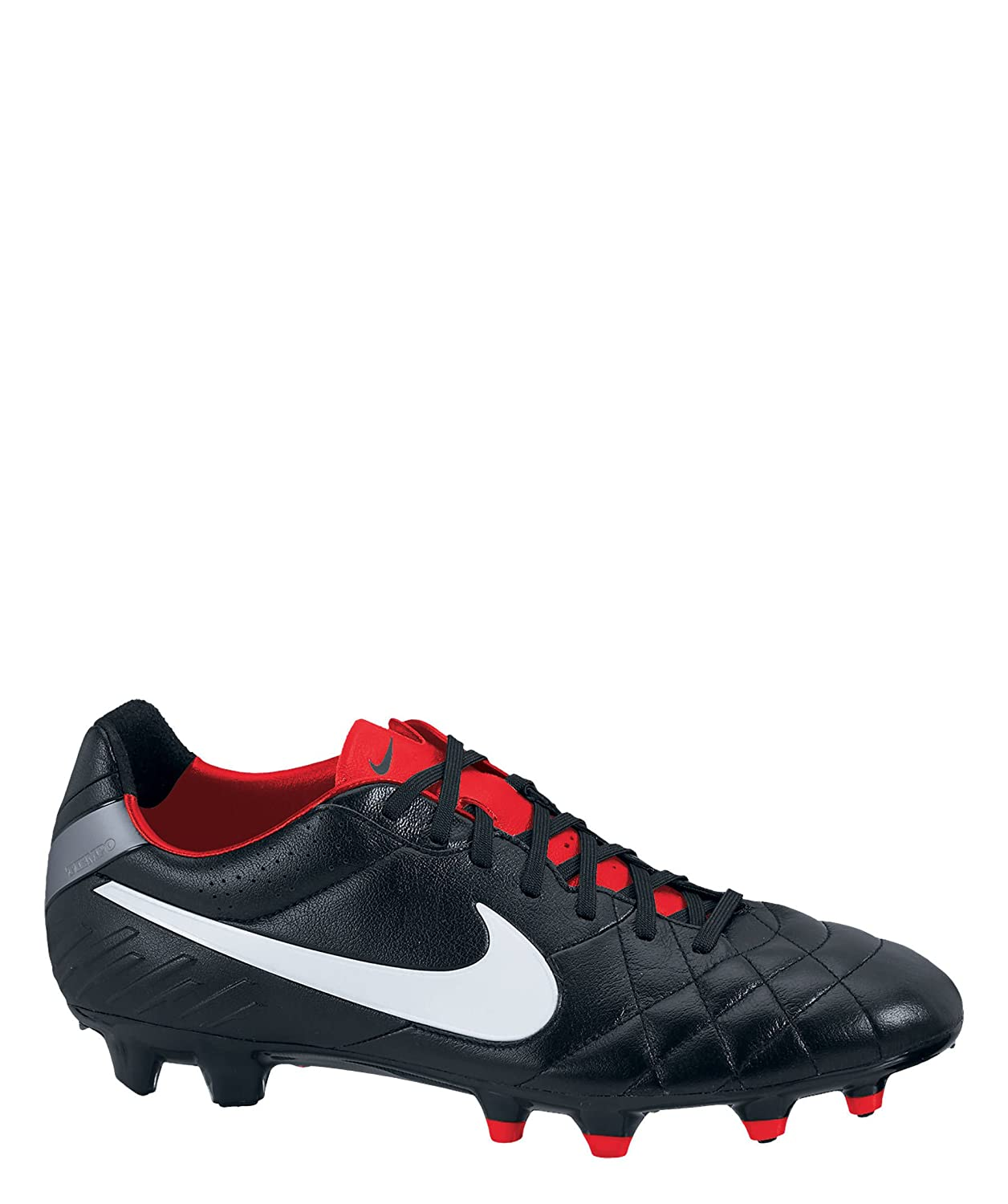 new style eeaad 5ffe1 Nike Tiempo Legend IV FG - (Black/Red/Cool Grey) (6.5)