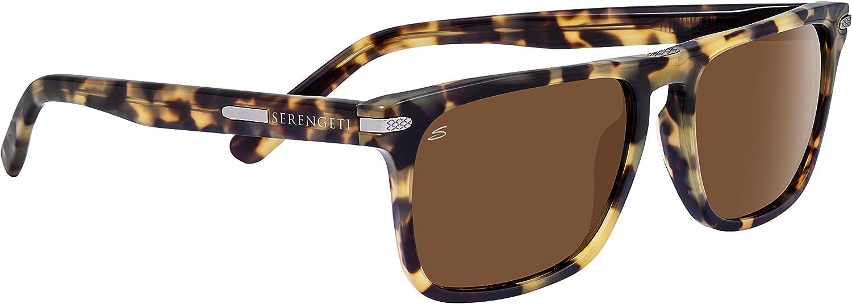 Serengeti Large Carlo, Gafas de Sol para Hombre, Black/Mossy Oak ...