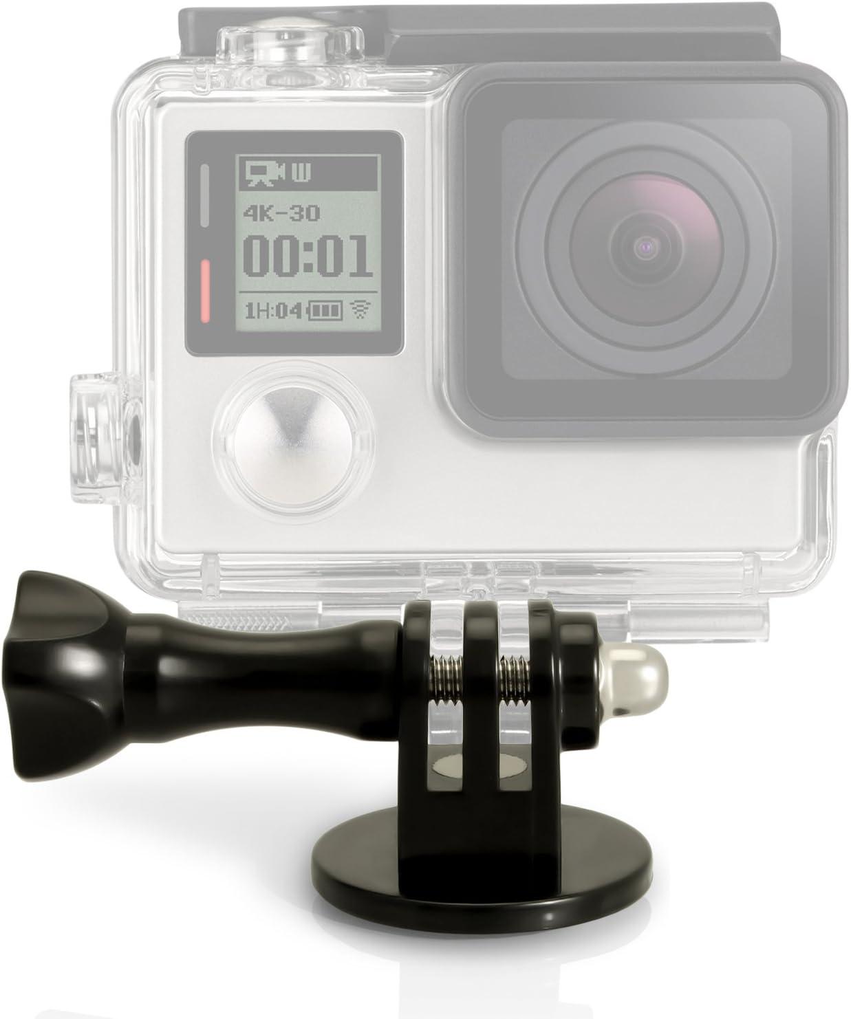 5x Cerradura Tuerca Fijación de montaje para cámara de acción Sport Gopro Hero 1 2 3 4