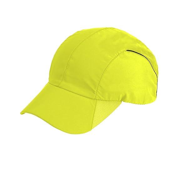 Spiro - Gorra deportiva modelo Impact (Talla Única Amarillo Fluorescente)   Amazon.es  Ropa y accesorios 447e5a1a539