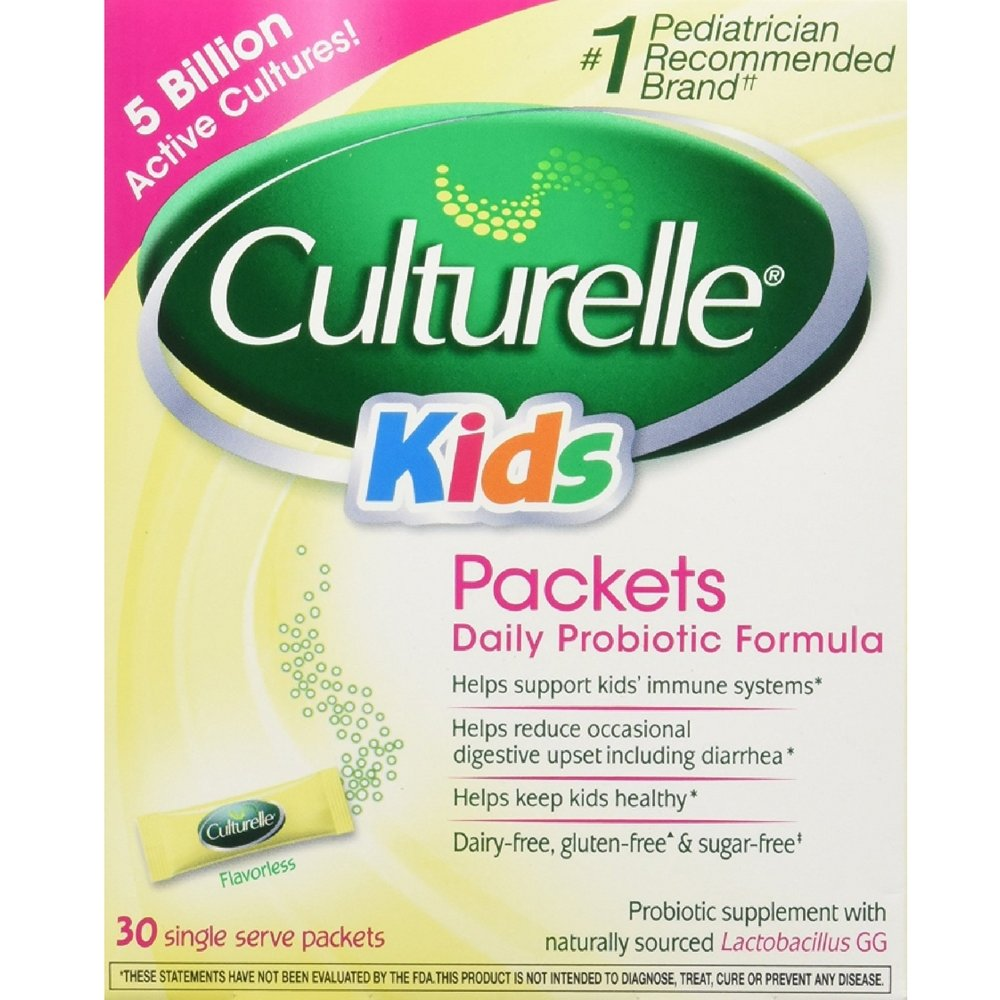 Culturelle Kids Packets Daily Probiotic Supplement 30 Each  (Pack of 5 )