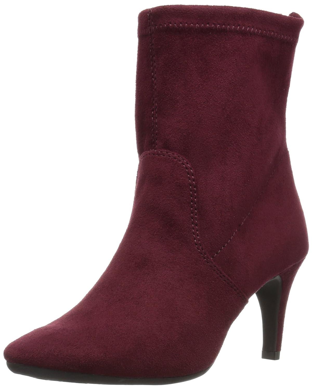 Aerosoles Women's Excess Boot B01HQHOIL6 5.5 B(M) US|Wine Fabric
