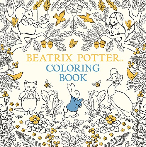 The Beatrix Potter Coloring Book (Peter Rabbit)