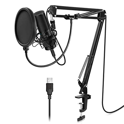 Amazon.com: TONOR USB Microphone Kit Q9 Condenser Computer Cardioid
