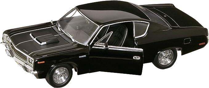 AMC Rebel 1970 schwarz Modellauto 1:18 Lucky Die Cast