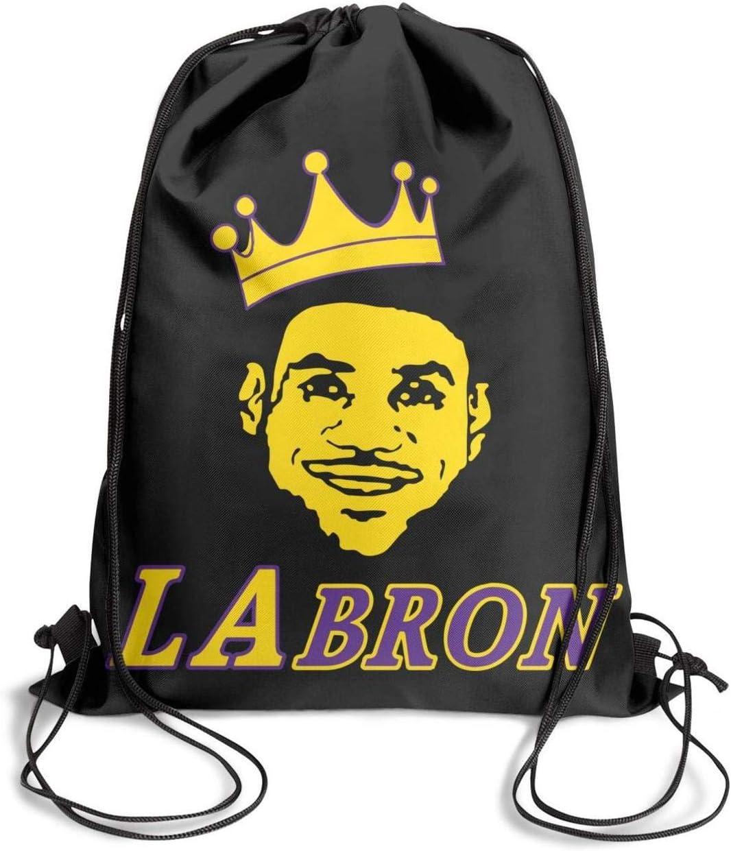GUYI3 Handbags Polyester Personalized 23-Labron-King Drawstring Bags for Women /& Men