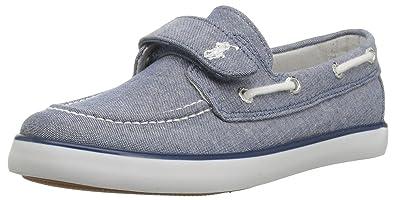 158b38ddc0 Amazon.com | Polo Ralph Lauren Kids' Sander Ez Boat Shoe | Shoes