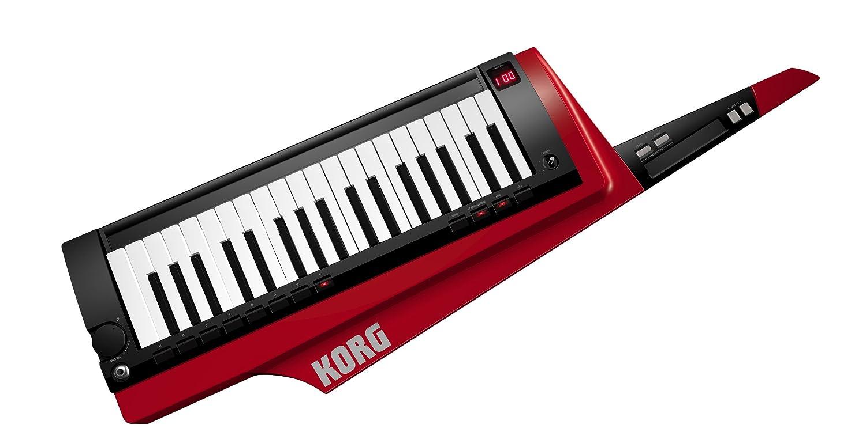 Korg RK-100S-RD - Teclado 37 teclas, color rojo y negro: Amazon.es: Instrumentos musicales
