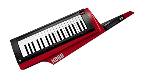 Korg RK-100S-RD - Teclado 37 teclas, color rojo y negro