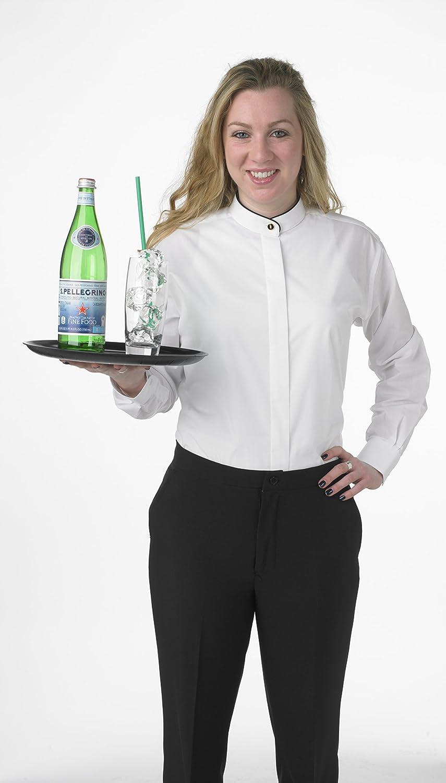 Amazon Elaine Karen Premium Womens White Dress Blouse Shirt
