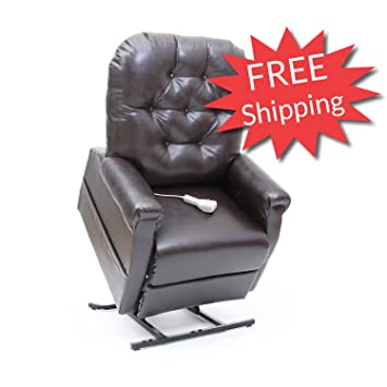 Mega Motion Lift Chair Easy Comfort Recliner LC 200 3 Position Rising  Electric Power Chaise