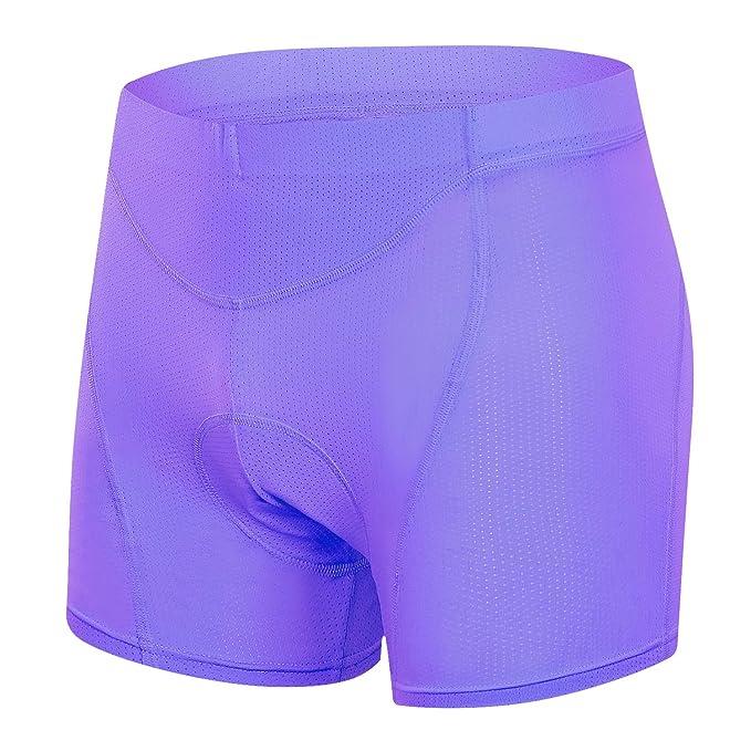 MUCUBAL Women's Cycling Underwear Shorts 3D Padded MTB Bike Bicycle Undershorts