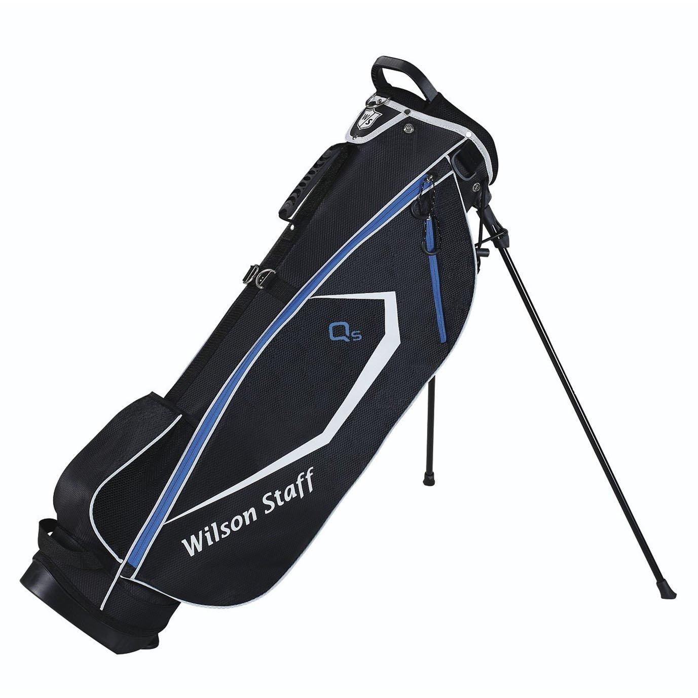 Wilson Staff Carry Bags QS - Bolsa de Mano para Palos de Golf (Bolsa de Transporte, Ligero, pequeño)