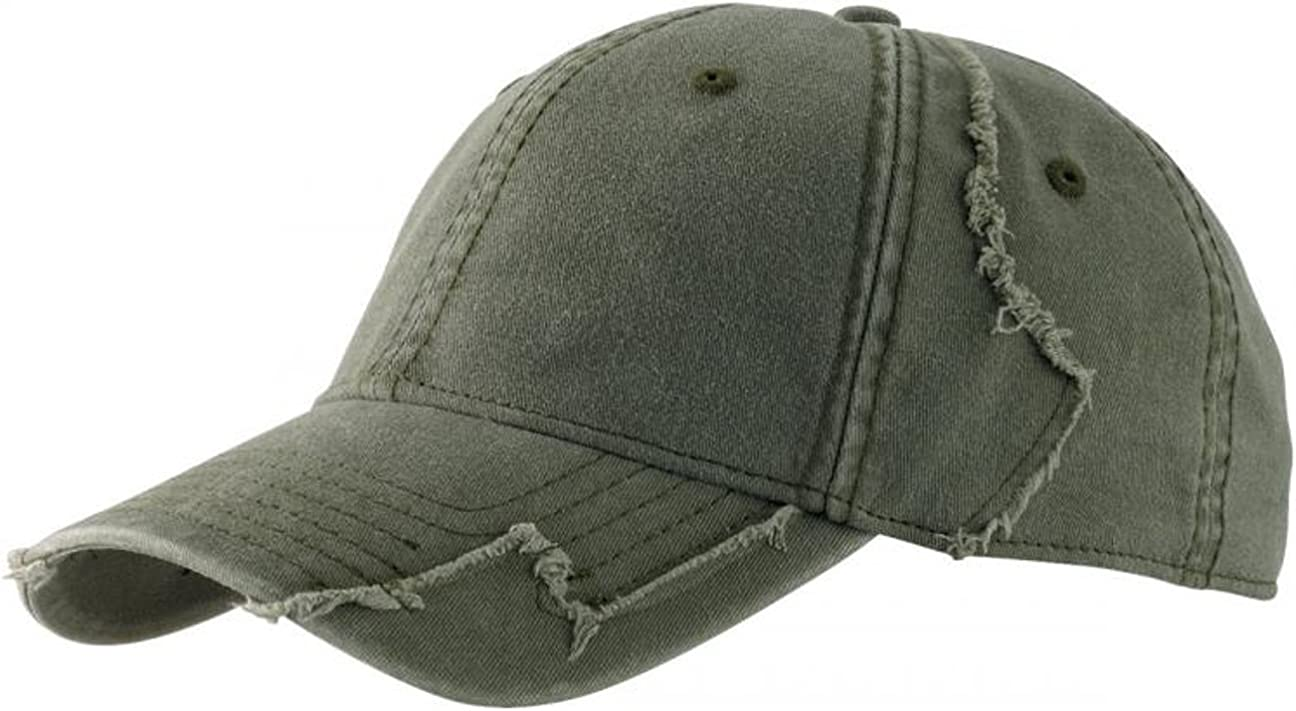 Schwarz Oliv - Blau 55-60 cm Lipodo Basecap Damen//Herren Baseballcap One Size Used Look Cap 100/% Baumwolle Braun