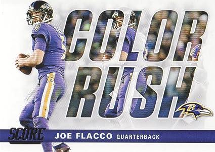 2017 Score Football Color Rush #10 Joe Flacco Baltimore Ravens at ...