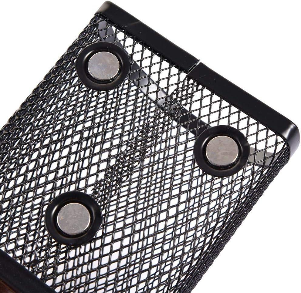 Locker Organizer Accessori Useful Typical Mesh Cestino di Immagazzinaggio Magnetico Cuttey Portapenne Magnetico per Lavagna Frigorifero