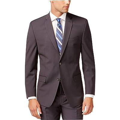 Andrew Marc New York Grey Mini-Stripe Two Button New Men's Sport Coat (38 Regular) at Men's Clothing store
