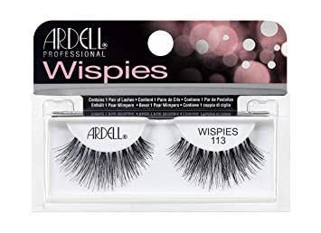 27d1c9c828b Amazon.com : Ardell Glamour Lashes, 113 Black : Fake Eyelashes And  Adhesives : Beauty