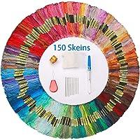 Hilos de Bordar 150 Madejas Colores Azar Hilo