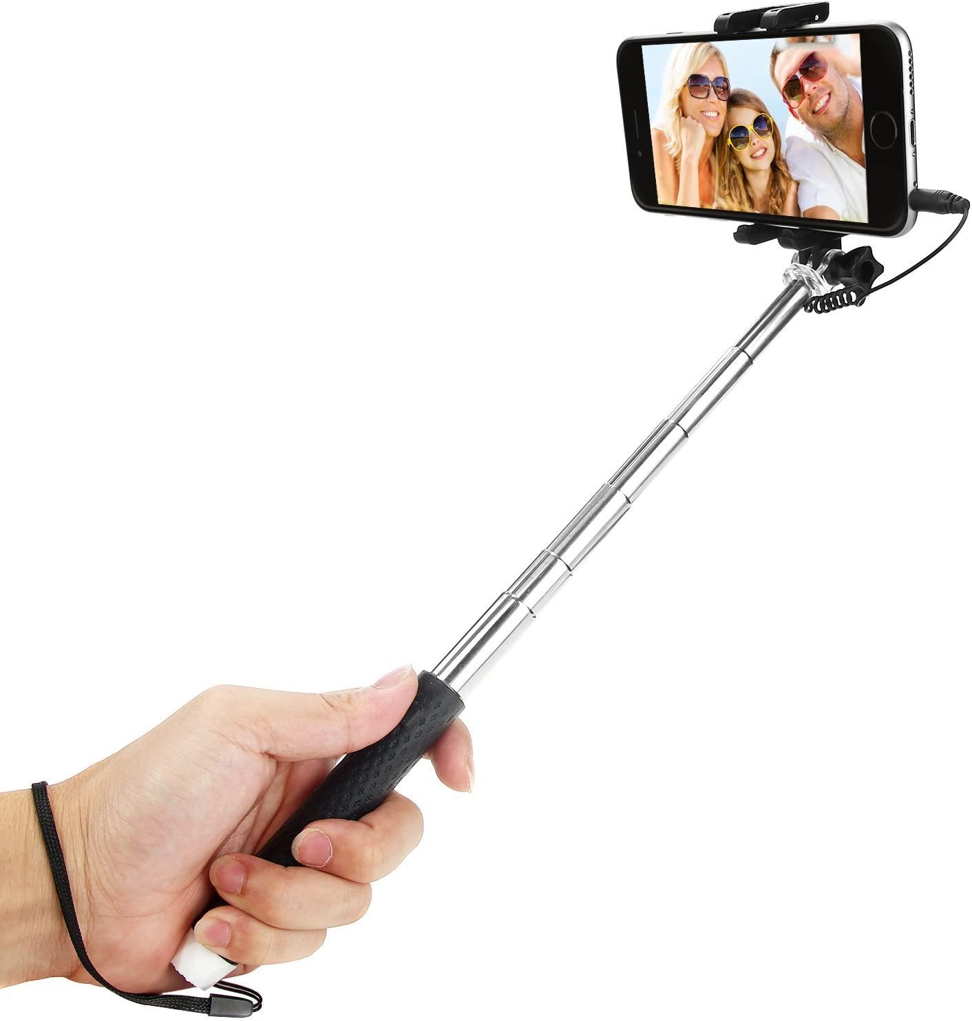Wired LITE Handheld Pocket-sized Expandable Selfie Stick Monopod
