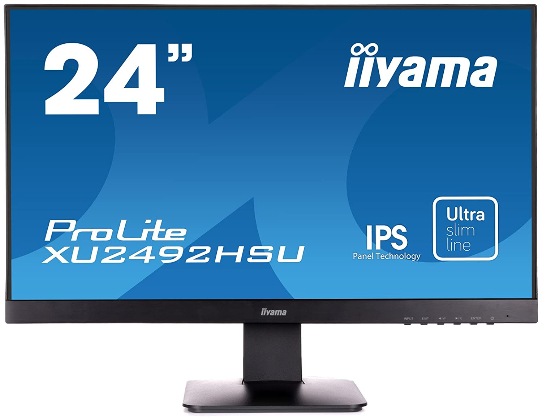 Iiyama   XU2492HSU-B1 Ecran PC LED 23, 8'' 1920x1080 VGA HDMI 8'' 1920x1080 VGA HDMI