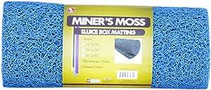 """SE 12"""" x 36"""" Blue Miner's Moss (Sluice Box Matting) - GP-MT415-3BL"""