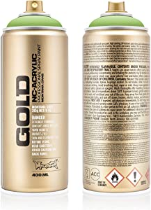 Montana Cans Montana GOLD 400 ml Color, Green Apple Spray Paint