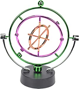 Aryellys Kinetic Art Perpetual Motion Desk Toy, Perfect Desktop Toys for Office with Motion, Executive Desk Toys - Boat's Wheel