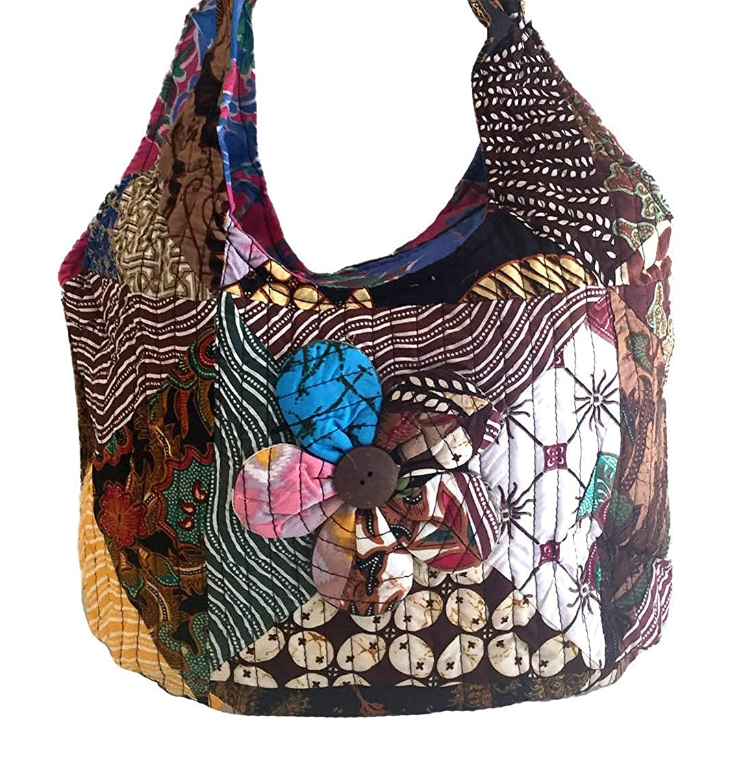 Hippy Boho Style Sling Cross Body Shoulder Messenger Bag Purse Multi Color Premium Quality