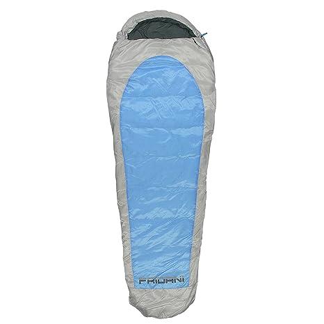 Fridani EB 235S XXL Camping Saco de Dormir de hasta 20 °C Exterior Momia Saco ...