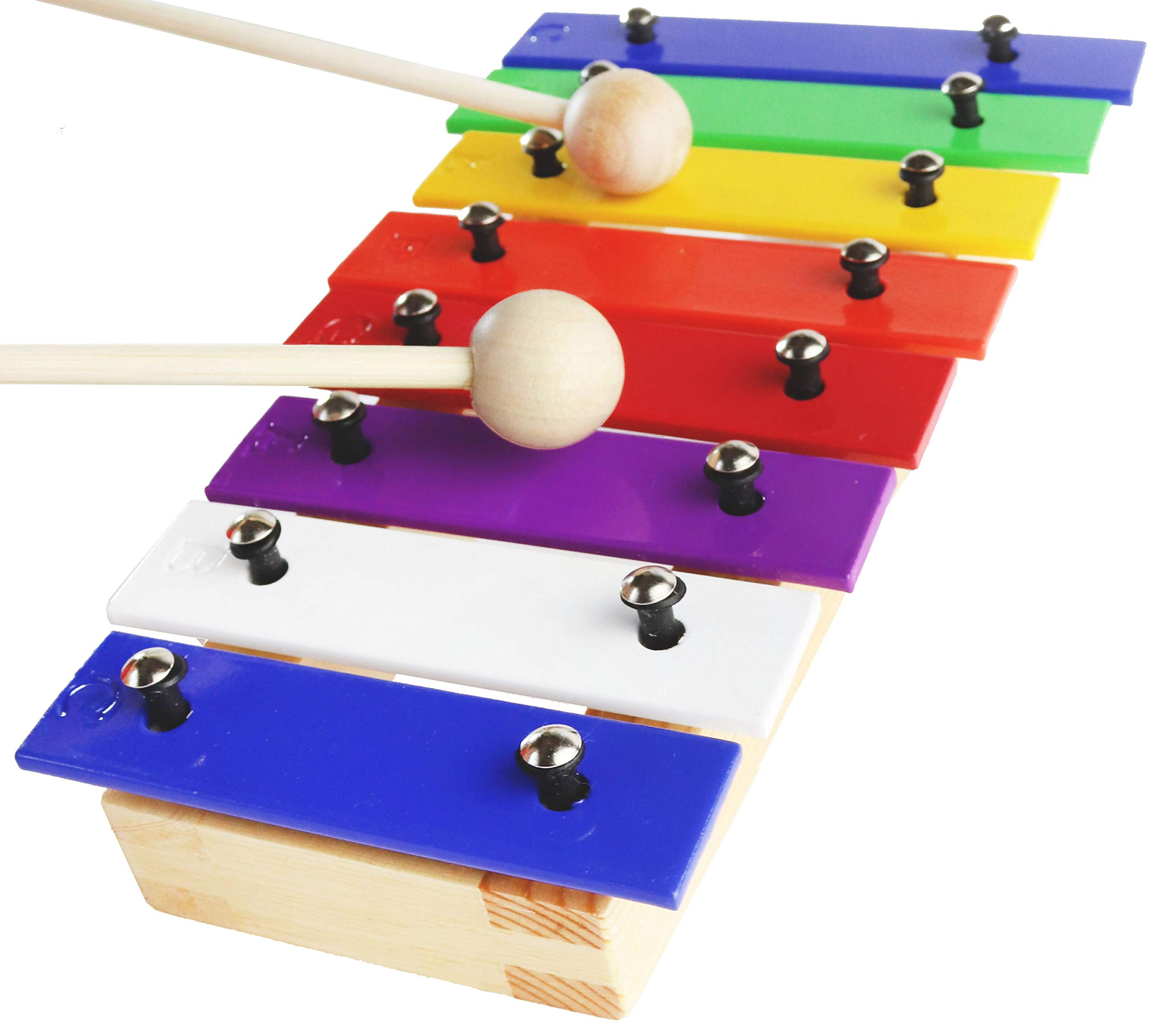 Mini Xylophone Glockenspiel - e-Book Color-Coded Songs just for this Toy Xylophone for Kids