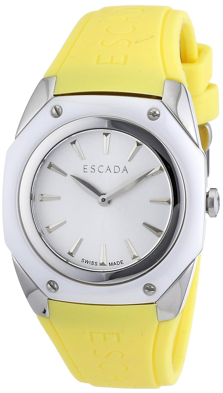 Escada Damen-Armbanduhr NAOMI Analog Quarz Silikon E2500081