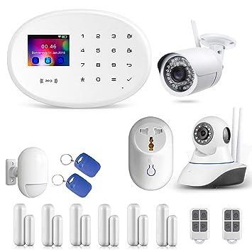 Smart Home WiFi del Distribuidor KEPPSECURE gsm y WiFi, con Detector de Movimiento y Otros Accesorios: Amazon.es: Bricolaje y herramientas